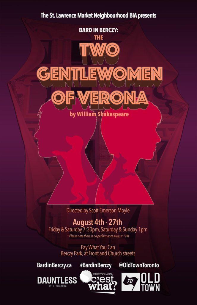 Two Gentlewomen of Verona poster